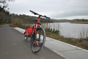 A social cycle on the Waterford Greenway